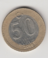 @Y@  Turkije    50  Yeni   Kurus   2008    (4735) - Turquie