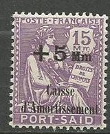 PORT-SAID N° 89 NEUF** LUXE SANS CHARNIERE / MNH - Port-Saïd (1899-1931)