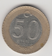@Y@  Turkije    50  Yeni   Kurus   2008    (4734) - Turquie
