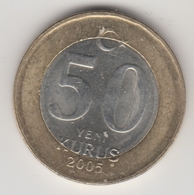 @Y@  Turkije    50  Yeni   Kurus   2005    (4733) - Turquie
