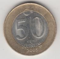 @Y@  Turkije    50  Yeni   Kurus   2005    (4732) - Turquie