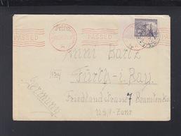 Tschechien Brief Nach Bayern Zensur Kulmbach - Briefe U. Dokumente