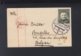 Slowakei Slovakia Brief 1940 Nach Belgien Zensur - Slowakische Republik