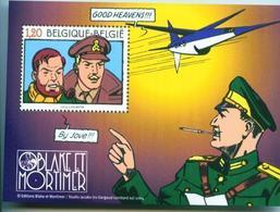 Blok 112 / Bloc Avec 3283** Blake & Mortimer / Uitg. Met Frankrijk - Bande Dessinnée - Comic - Strip - Cartoon - Blocks & Sheetlets 1962-....