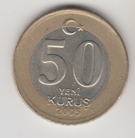 @Y@  Turkije    50  Yeni   Kurus   2005    (4724) - Turquie