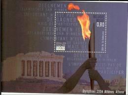 Blok 114** Met Zegel 3306**OLYMPISCHE SPELEN POSTFRIS ATHENE - Olymphilex Athène - Blocks & Sheetlets 1962-....