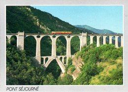 Fontpédrouse (66) : Pont Séjourné Avec Autorail - France