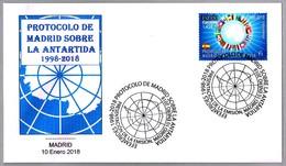 PROTOCOLO DE MADRID SOBRE LA ANTARTIDA. Madrid 2018 - Tratado Antártico