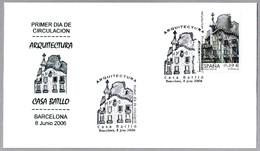 ARQUITECTURA - CASA BATLLO, BARCELONA - A. GAUDI. SPD/FDC Barcelona 2006 - Arquitectura