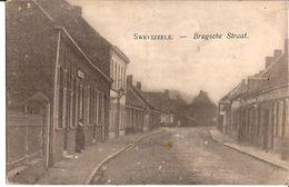 SWEVEZEELE BRUGSCHE STRAAT Circa 1916  1236/d3 Wingene - Wingene