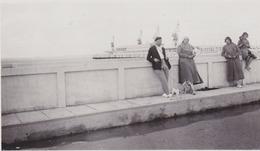 Photo Anonyme Vintage Snapshot Verdon Royan Gare Maritime - Lieux