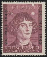 104 Nikolaus Kopernikus 1943, ** Postfrisch - Besetzungen 1938-45