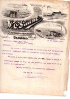 Facture Anglaise 1918-Gaunt-voir état - Ver. Königreich