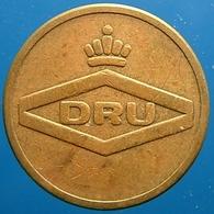 KB113-1 - DRU - Ulft - B 20.0mm - Koffie Machine Penning - Coffee Machine Token - Firma's