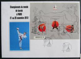 FRANCE - 2012 - PJ F4680 - CHAMPIONNATS DU MONDE DE KARATE - FDC