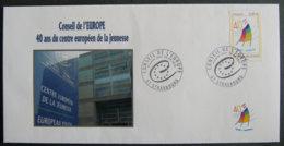 FRANCE - 2012 - PJ SERVICE 153 - CONSEIL DE L EUROPE - FDC