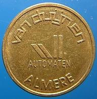 KB116A-1 - VAN DUIJNEN AUTOMATEN - Almere - B 20.0mm - Koffie Machine Penning - Coffee Machine Token - Firma's