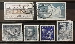 SUECIA 1981- 1990. LOTE DE SELLOS USADOS - USED. - Suecia