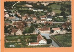 CPSM  Grand Format - St Aubin Sur Loire -(71.S.-et-L.) - Vue Générale Aérienne - Autres Communes