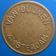 KB117-1 - VAN DUIJNEN AMSTERDAM - Amsterdam - B 22.0mm - Koffie Machine Penning - Coffee Machine Token - Firma's