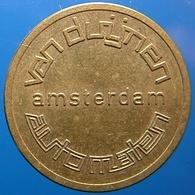 KB117-2 - VAN DUIJNEN AUTOMATEN AMSTERDAM - Amsterdam - B 22.0mm - Koffie Machine Penning - Coffee Machine Token - Firma's
