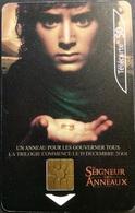 Telefonkarte Frankreich - Kino,Movie,Film - Herr Der Ringe - 50 Units - 09/01 - Frankreich