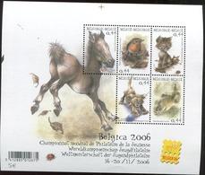 Blok 116 Xx Youth Philately -Jeugdfilatelie 3319/23**- Bloc 116 MNH Belgica 2006 - Mint Sheet - Blocks & Sheetlets 1962-....