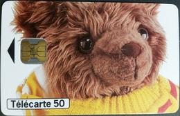 Telefonkarte Frankreich - Werbung - Parfüm - Teddy , Bear - 50 Units - 10/97 - Frankreich