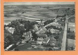 CPSM  Grand Format - Allerey  -(S.-et-L.) - Vue Générale Aérienne - Autres Communes