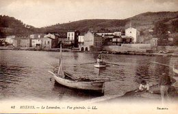 Le Lavandou (83) : Vue Générale - Le Lavandou