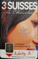 Telefonkarte Frankreich - Werbung - Frau - 120 Units - 02/93 - 1993