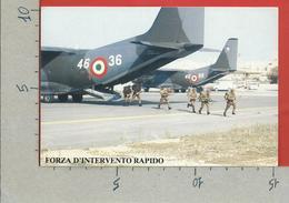 CARTOLINA NV ITALIA - Forza D'Intervento Rapido - 2° Mostra Militaria In Europa - ROMA EUR 1990 - 10 X 15 - Esposizioni