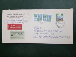 (25951) STORIA POSTALE ITALIA 1988 - 1981-90: Storia Postale