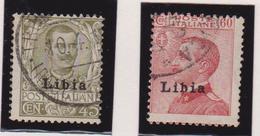 Libia 1917 - V. Emanuele II N 18/9 Us. - Libya