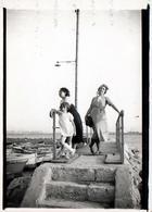 Photo Originale Famille Lafon à L'Estaque (L'Estaco) Côté Port Quartier Du 16e Arrondissement De Marseille En 1936 - Lieux