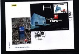 Croatia / Kroatien 2000 EXPO Hannover FDC - 2000 – Hanover (Germany)