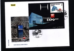 Croatia / Kroatien 2000 EXPO Hannover FDC - 2000 – Hannover (Deutschland)