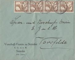 DR Brief Mef Minr.4x 499 Cunrau 2.12.33 - Deutschland