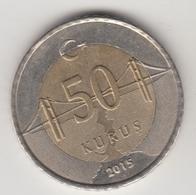 @Y@  Turkije    50     Kurus   2015    (4729) - Turkije