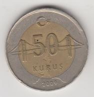 @Y@  Turkije    50     Kurus   2009    (4730) - Turquie