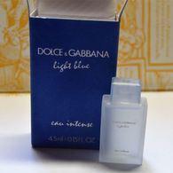 Miniature De Parfum Dolce Gabbana( Light Blue Eau Intense) - Miniatures De Parfum