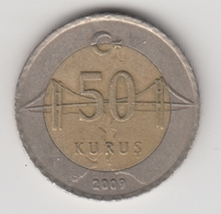 @Y@  Turkije    50     Kurus   2009    (4747) - Turquie