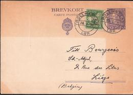 Sweden 1930 Brevkort, Stationary Cancelled 23.1.30 - Brieven En Documenten