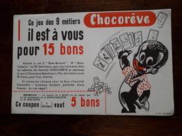 L18/73 Buvard. Chocoreve. - Chocolat