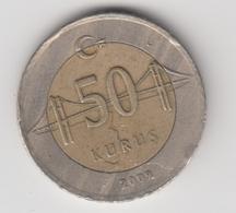 @Y@  Turkije    50     Kurus   2009    (4752) - Turquie