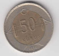 @Y@  Turkije    50     Kurus   2010    (4753) - Turquie