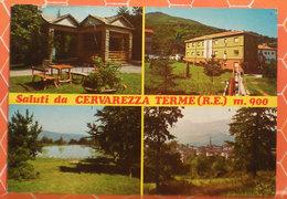 Cervarezza Terme Saluti Vedute (Reggio Emilia) Cartolina 1977 - Other Cities