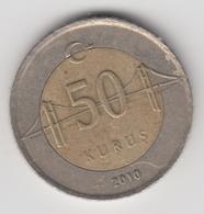 @Y@  Turkije    50     Kurus   2010    (4754) - Turquie
