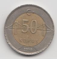 @Y@  Turkije    50     Kurus   2010    (4756) - Turquie