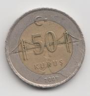 @Y@  Turkije    50     Kurus   2009    (4757) - Turquie